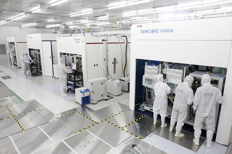 电科装备实现离子注入机全谱系产品本土化