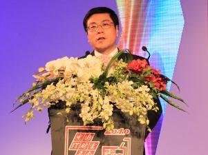 图文直播:航天信息董事长刘振南演讲