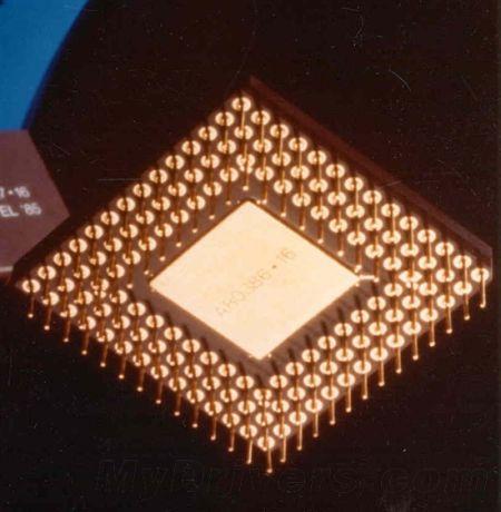 386 DX处理器:33/25/20/16MHz,1.5/1微米