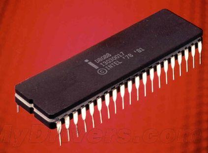 8088处理器:8/4.47MHz,3微米