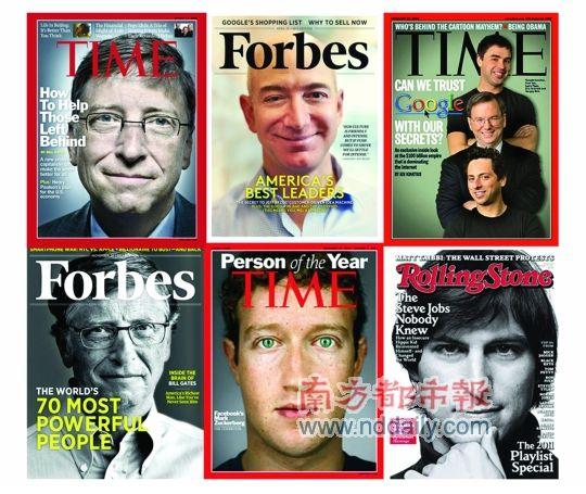 新技术大亨们参加各种技术和经济论坛,担任政治峰会嘉宾,频繁出现在杂志封面上,俨然公众崇拜的偶像。
