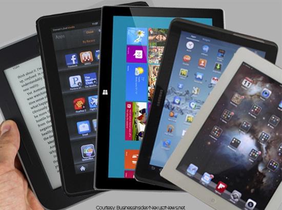 Nexus 7平板电脑在美国上市销售火爆(腾讯科技配图)