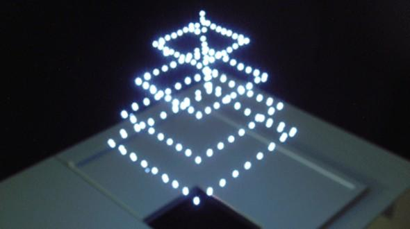 日本正研发3D激光技术