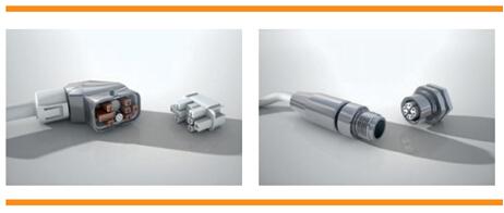 Motorman 混合连接器与M8/M12连接器系统