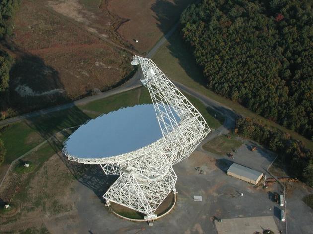 位于美国西弗吉尼亚州的绿岸天文台
